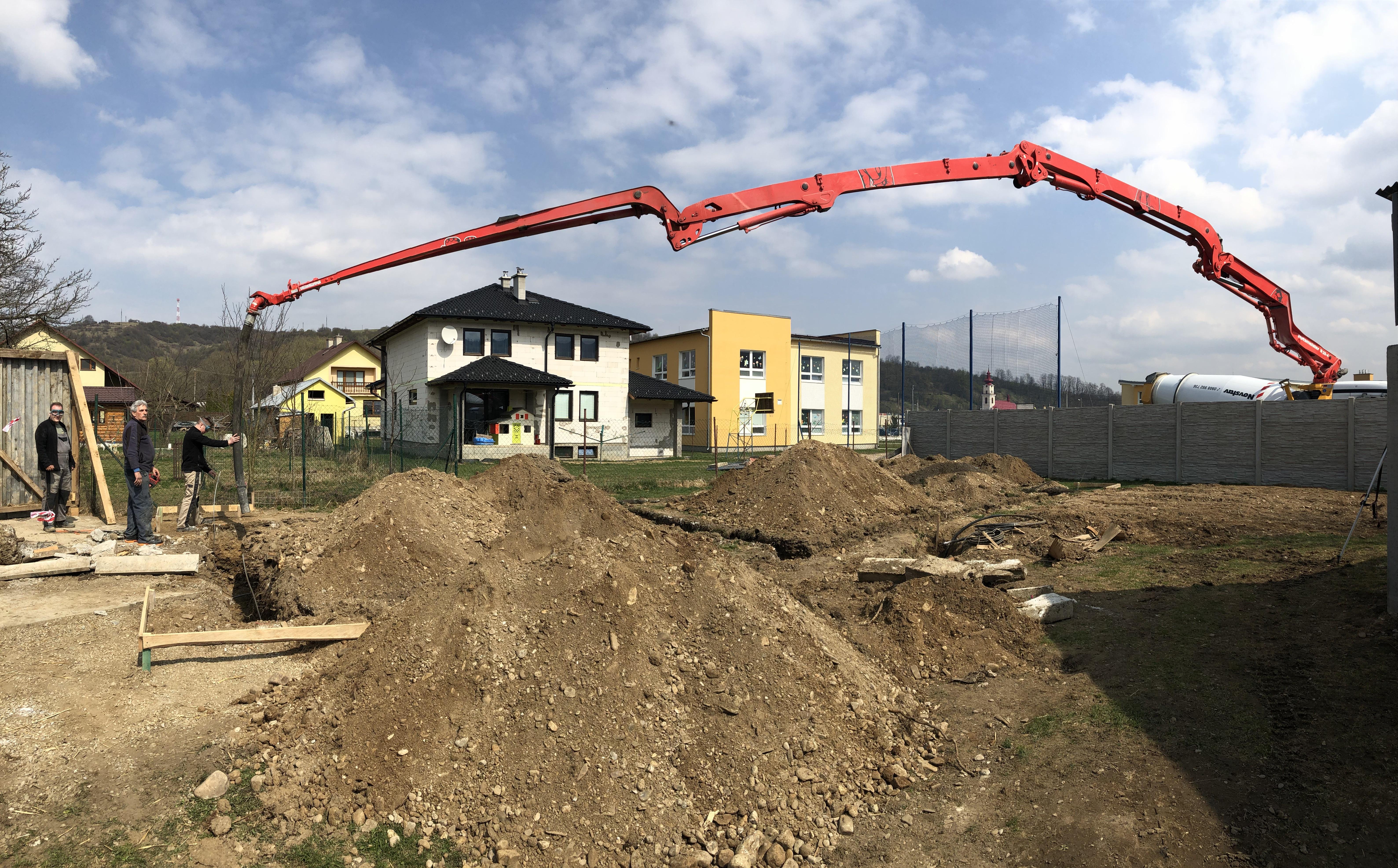 Betónovanie základov