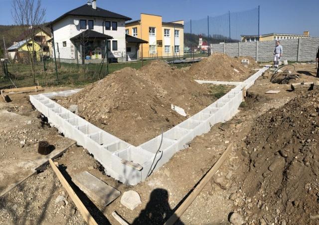 základy rodinného domu